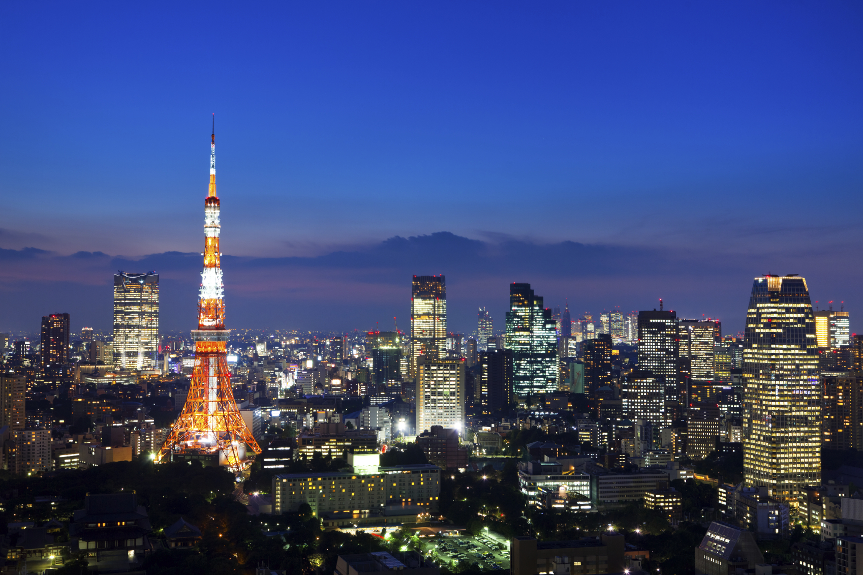 tokyo dark city skyline - photo #25