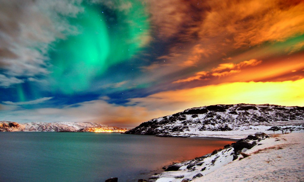 hammerfest northern lights