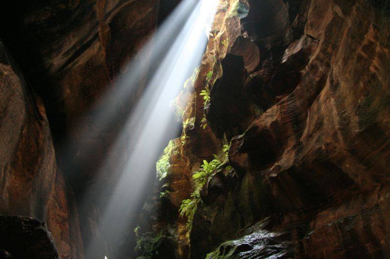 blue mountain slot canyon