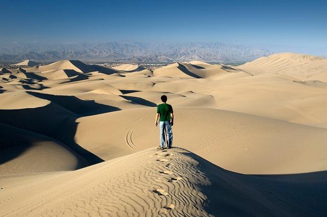desert near ica southern peru