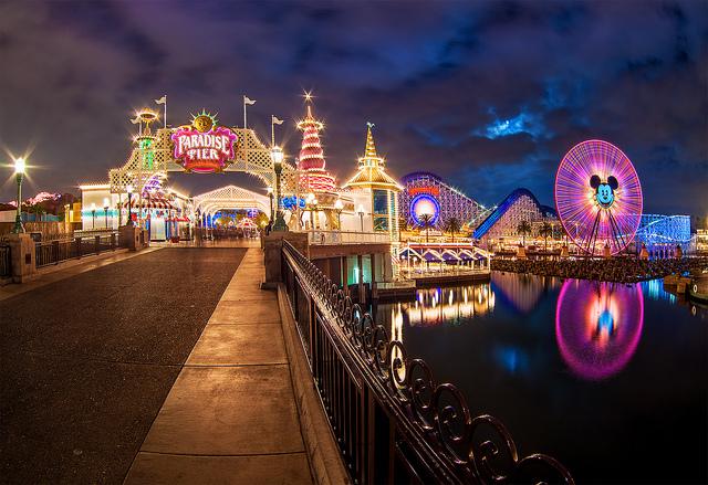 full moon paradise pier