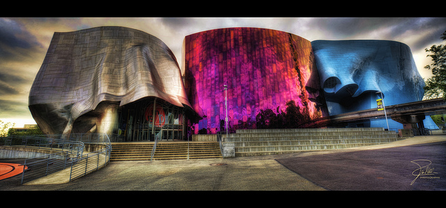 Experience Music Project and Science Fiction Museum and Hall of Fame