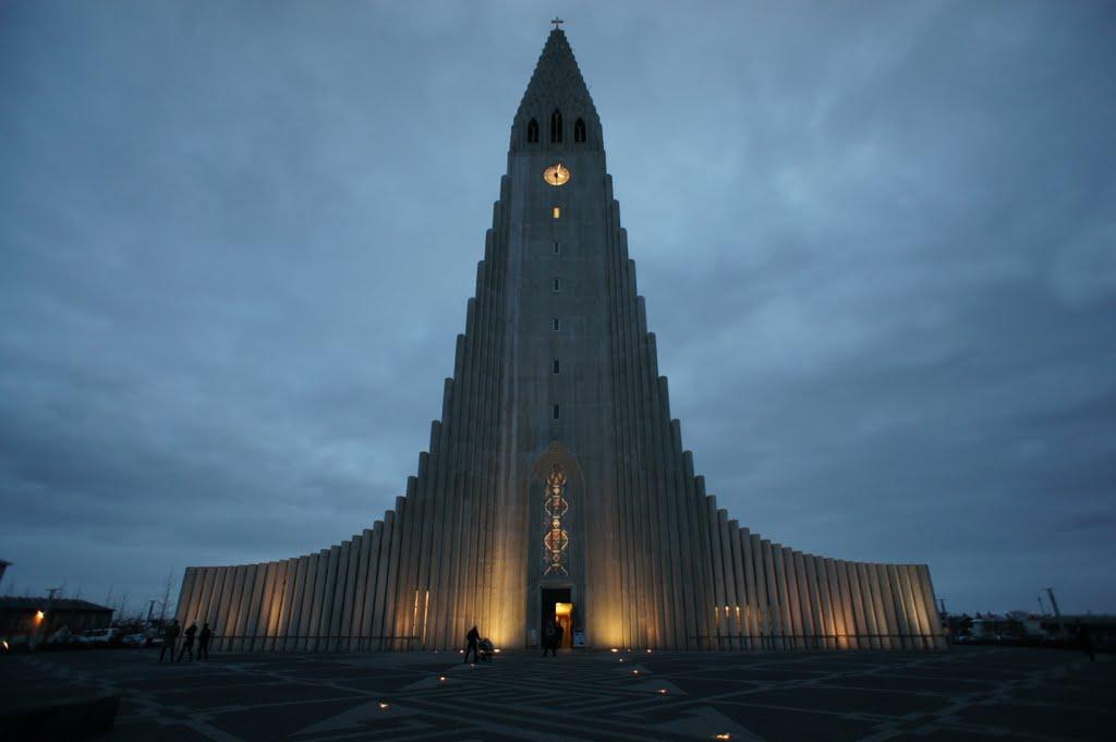 The Church of Hallgrimur