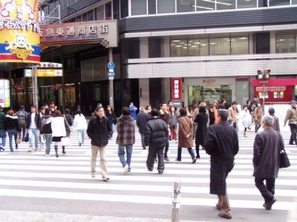 tokyo sidewalk