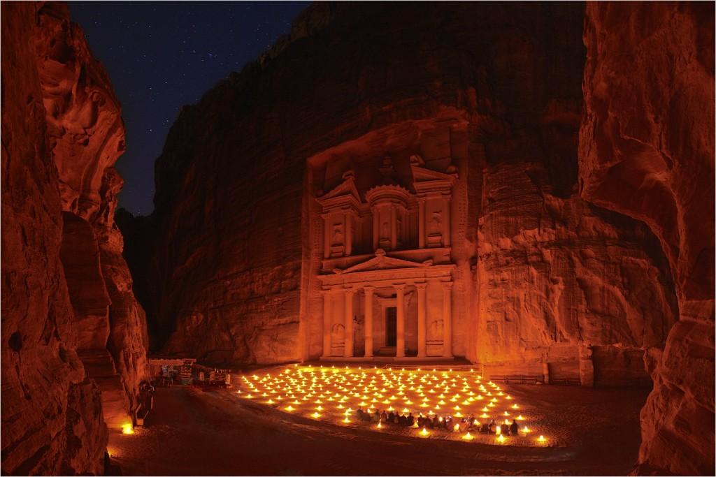 Petra, Rose City, Jordan