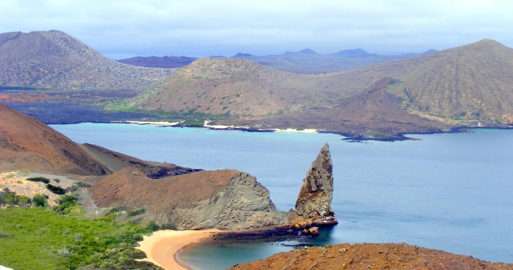 Galapagos Islands, Pinnacle Rock, Ecuador
