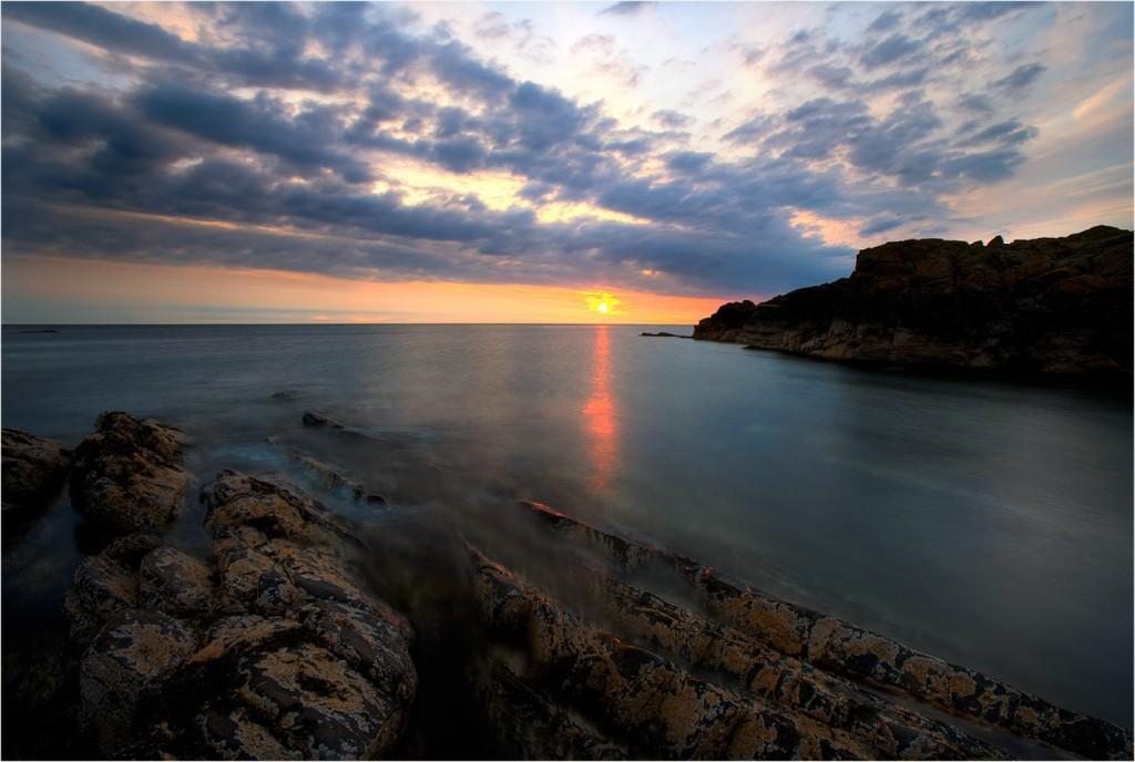 isle of man sunset