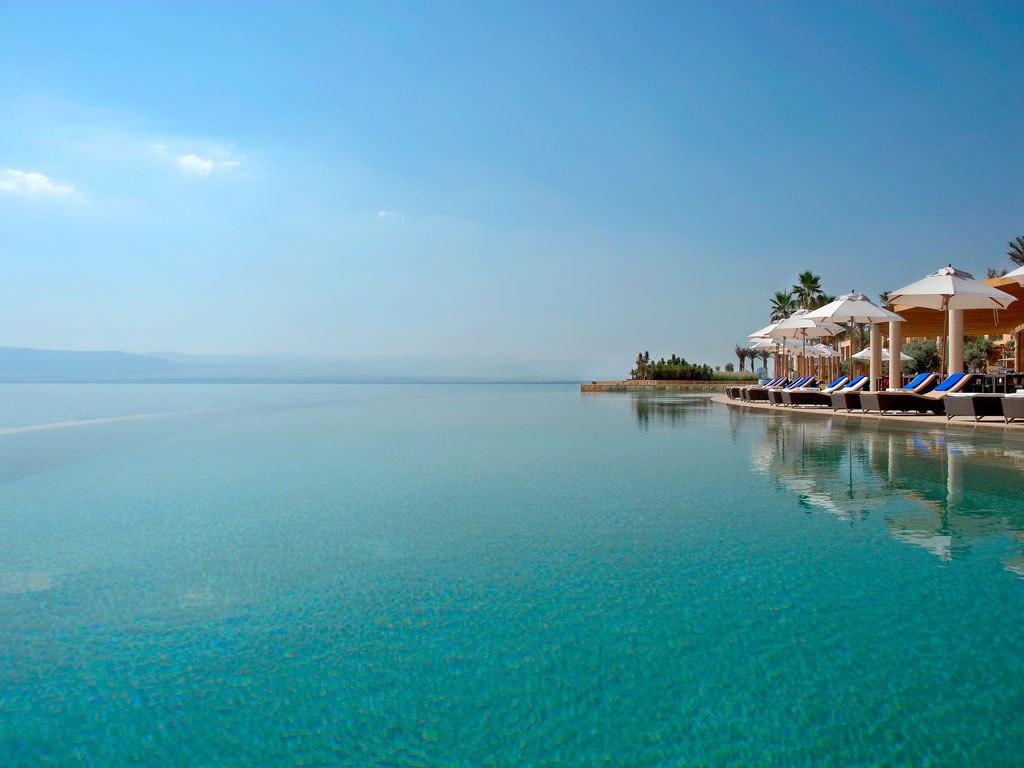 Kempinski hotel at Dead Sea