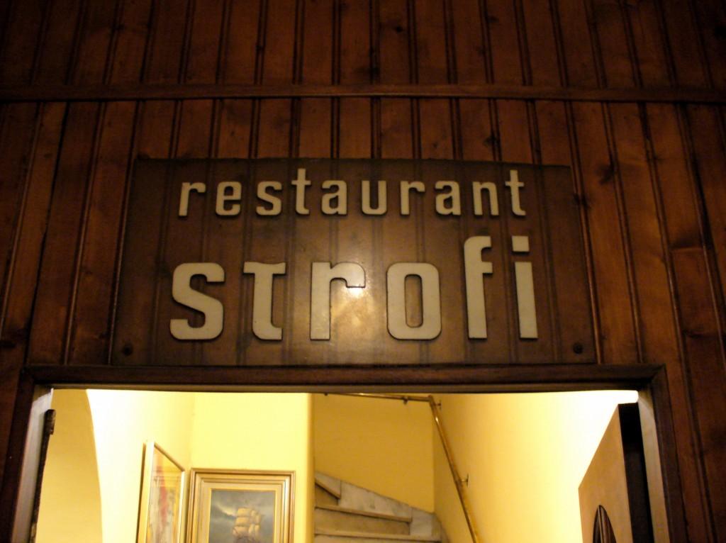 Restaurant Strofi