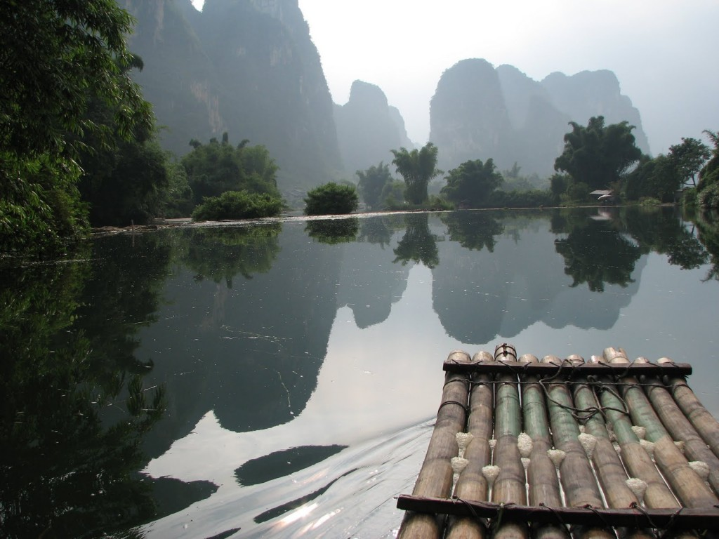 Guilin Bamboo Rafting