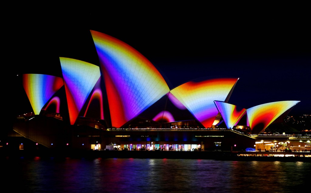 Vivid Sydney Festival Illuminates The City