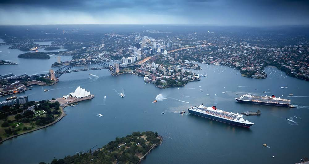 sydney harbour overlook