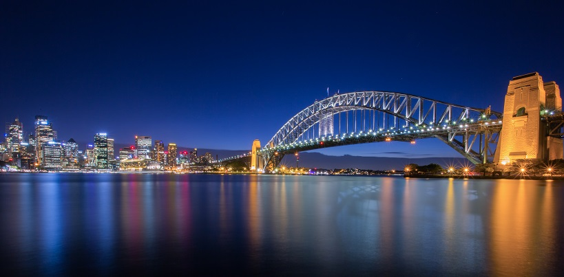sydney-harbour-bridge-nightscape