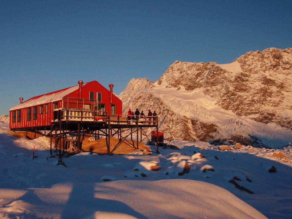 mueller hut mt cook national park