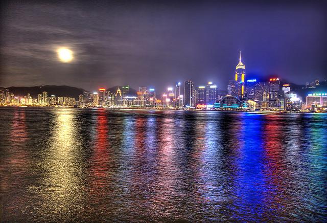 full moon hong kong