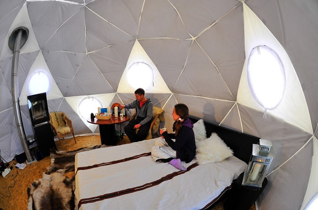 geodesic dome tiny 2