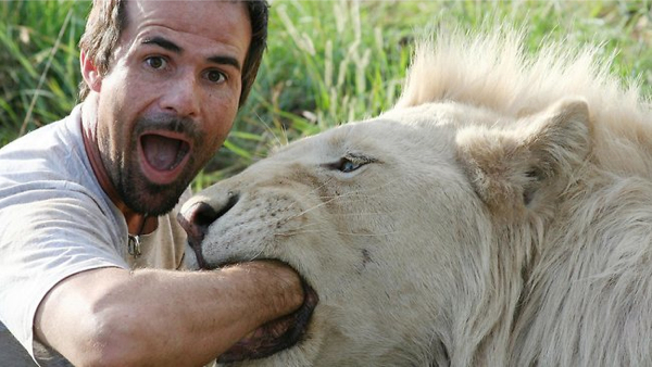 kevin richardson lion hand mouth