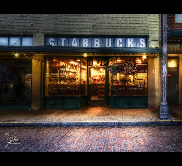 The 1st Starbucks