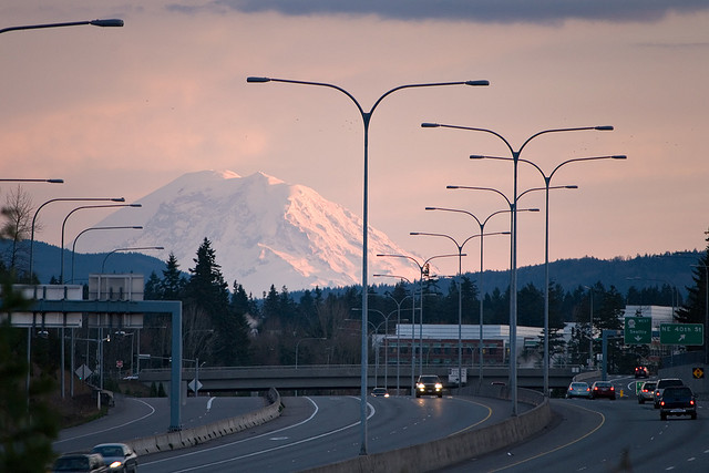mountain rainer 520 bridge