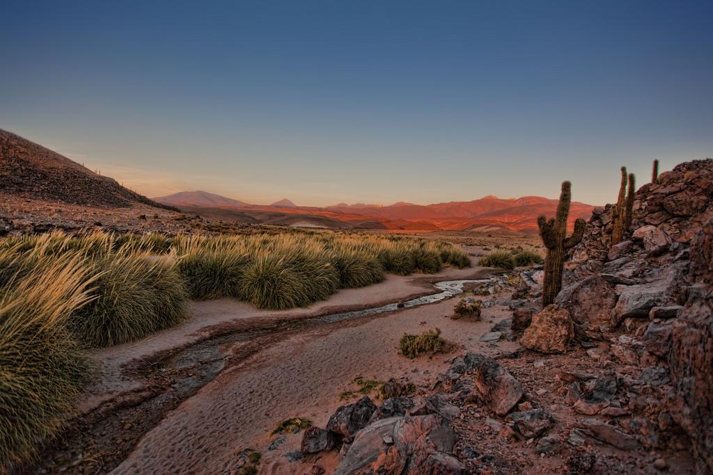 atacama desert view of andes