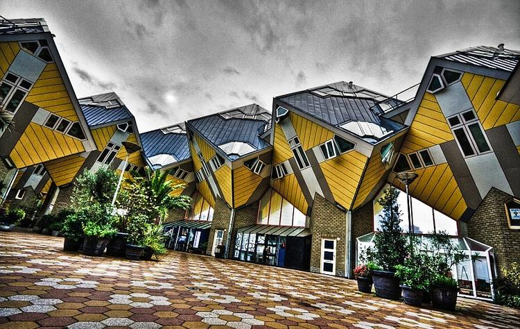 cube houses neatherlands