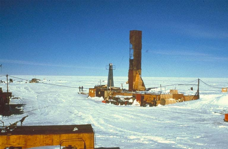 Deep drilling at Vostok